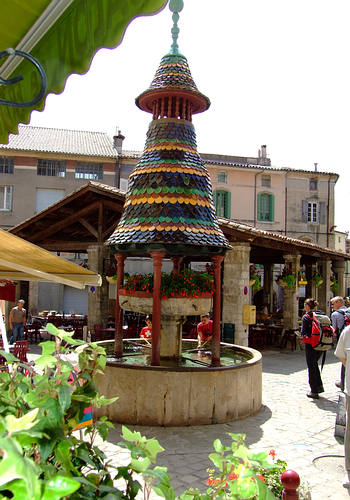 Pagoden Brunnen in Anduze
